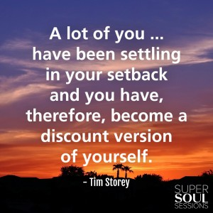 Quote about Setbacks - Tim Storey