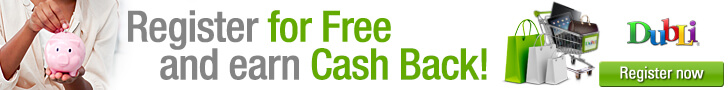 Register for Free and Earn Cashback